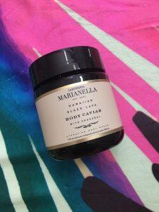 Summer 2018 Fab Fit Fun Box Jaboneria Marianella Body Caviar